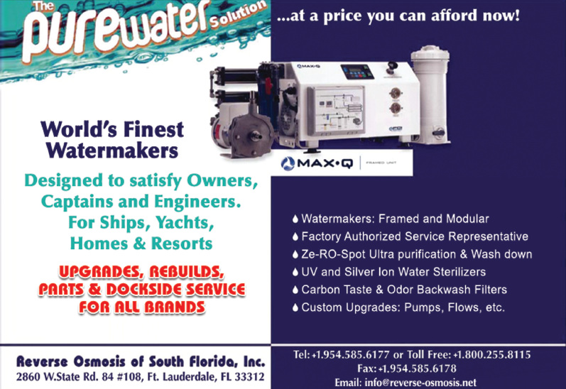 Reverse Osmosis Of South Florida Inc At Fort Lauderdale